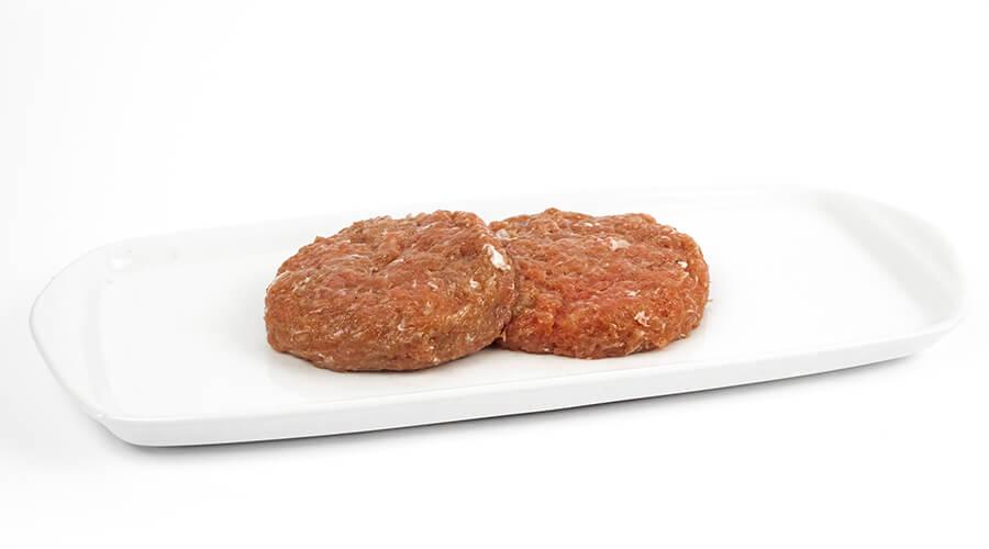Hamburgerové mäso Hlbokozmrazené