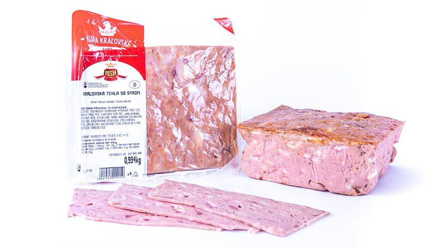 Kráľovská tehla so syrom